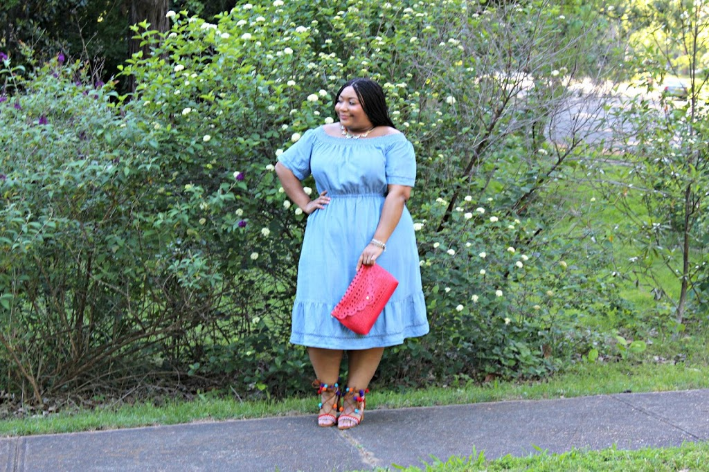 For The Love of Blue: The Denim Dress