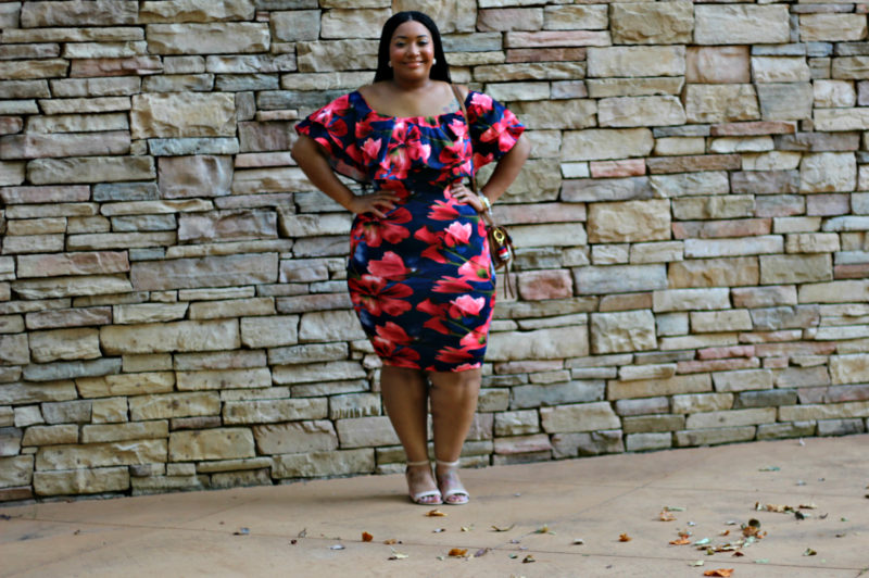Falling Into Bodycons: Florals