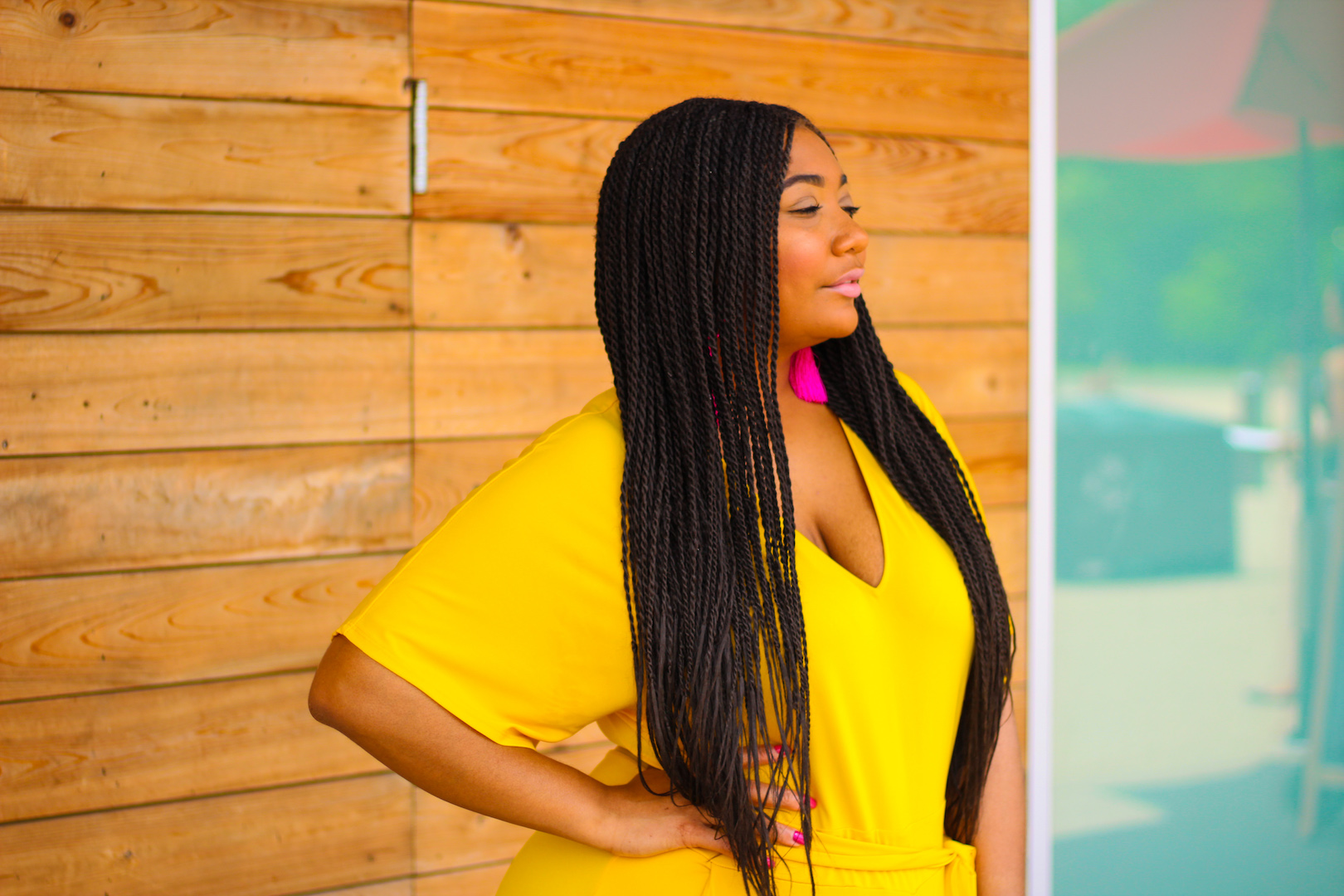 Melanin In Yellow: The Jumpsuit