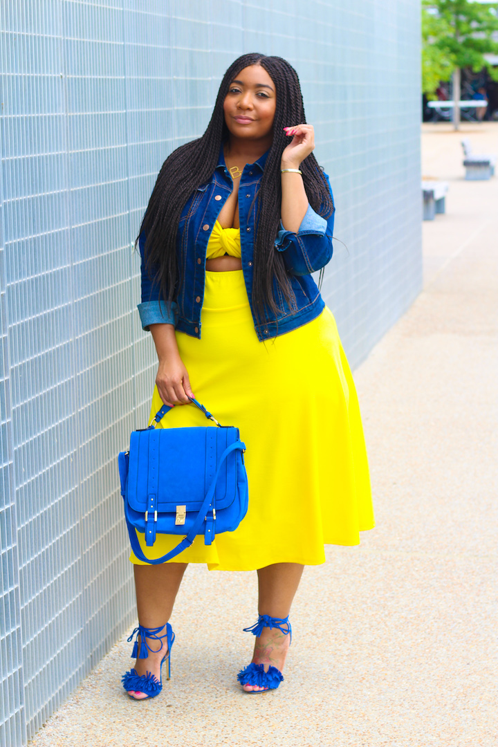 Melanin In Yellow: The Midi Dress