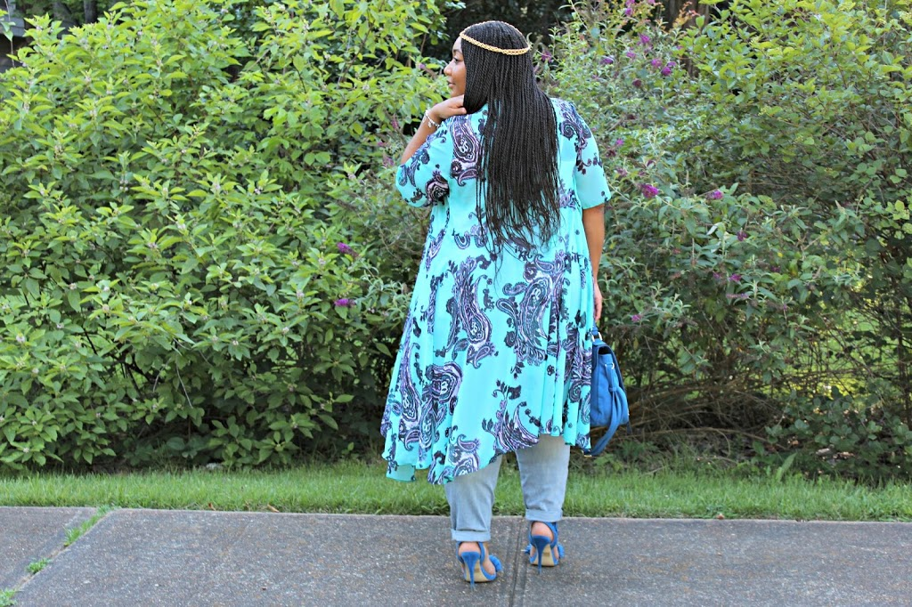 For The Love of Blue: The Kimono