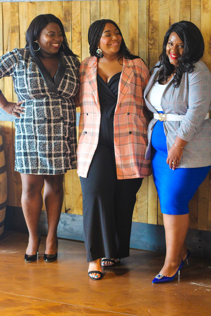 Southern Curve Collective: The Plaid Blazer