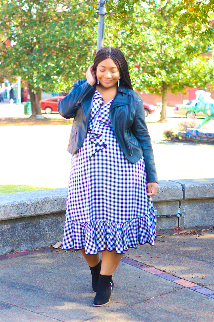 Sassy Momma: Gingham and Leather