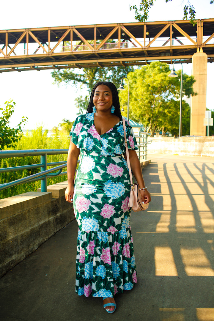 Perfect Dress for Plus Size Wedding Guest
