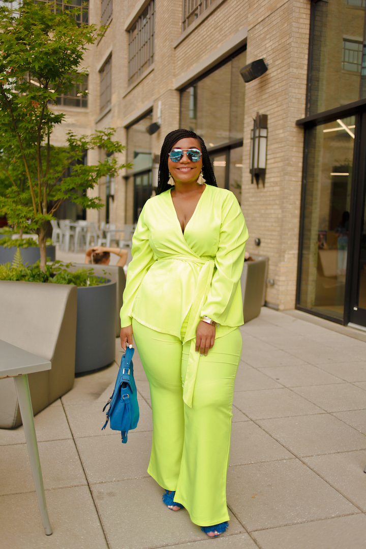 Neon Vibes: The Suit