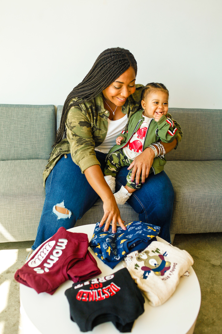 Affordable Clothing for a Growing Baby
