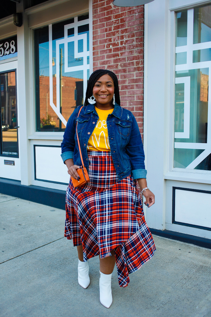 Mad for Plaid: The Skirt