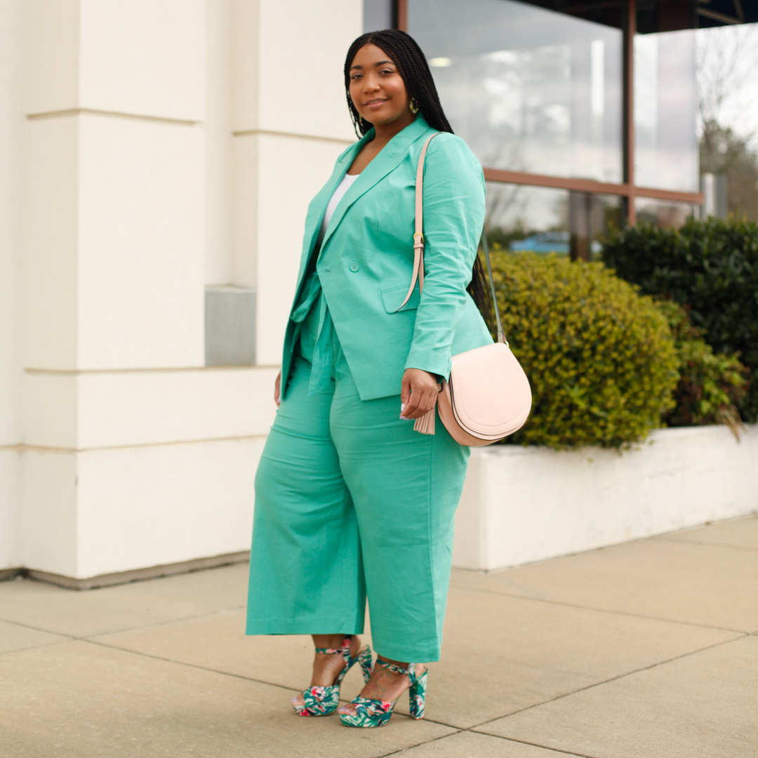Millennial Workwear: Green Spring Suit