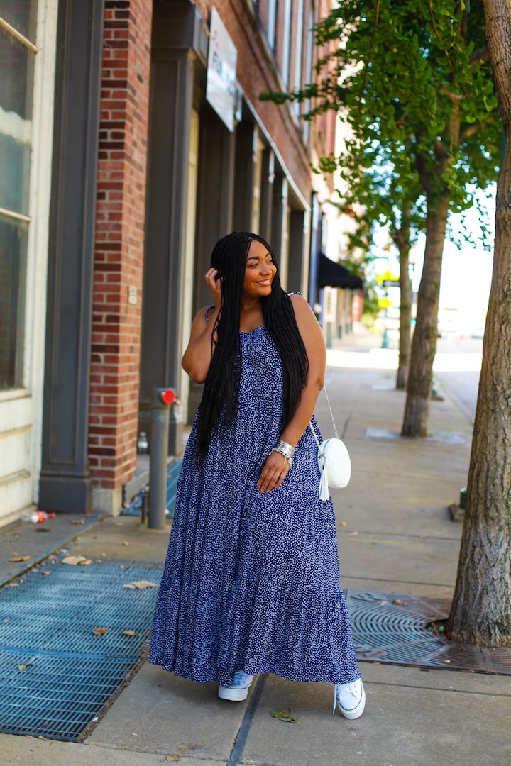 Maxi Dress - CURVACEOUSLY BEE