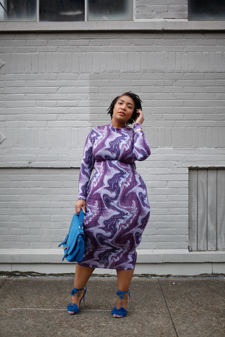 Lavender Goals: The Groovy Dress